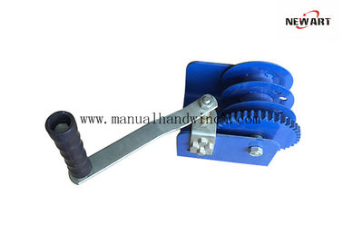 China Worm Gear Wire Rope Winch, Heavy Duty Construction, Capacity 2000 lb supplier