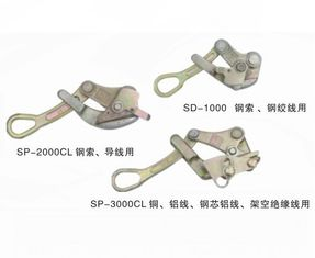 China Universal Self Grip Conductor Transmission Line Tool Come Along Clamp For ACSR Tighting supplier