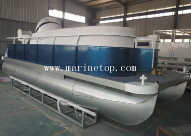 5.9m X 2.25m Aluminum Pontoon Boat Durable For Harbor Mate Luxury Party