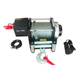 12v 24v Car SUV 17000 Lb Electric Winch , 4x4 Off Road Portable ATV Winch