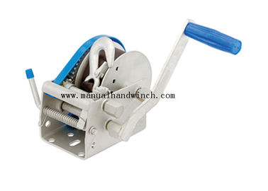 Simply Operating 3 Speed Boat Winch 900kg With Snap Hook Type 50mm Drum
