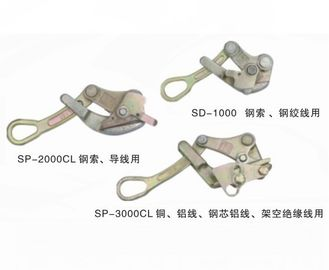 Universal Self Grip Conductor Come Along Clamp For ACSR Tighting