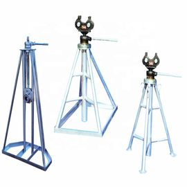 Electric Payout 1- 5 Ton Column Frame Type Mechanical Cable Simple Reel Stand