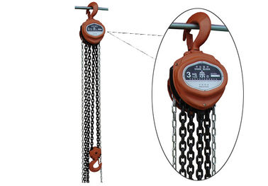 Tight Transmission Line Stringing Equipment Steel Wire Rope Manual Chain Hoist